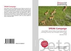 Buchcover von SPEAK Campaign