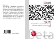 Bookcover of Regicide