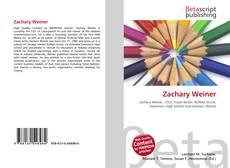 Zachary Weiner kitap kapağı