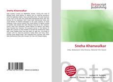 Bookcover of Sneha Khanwalkar