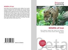 Bookcover of Wildlife of Iran