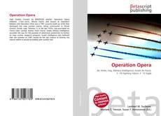 Capa do livro de Operation Opera