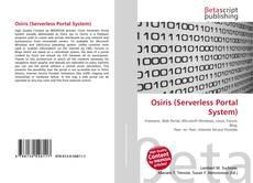Osiris (Serverless Portal System) kitap kapağı
