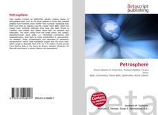 Обложка Petrosphere