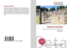 Zakaria Goneim kitap kapağı