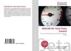 Capa do livro de NASCAR 06: Total Team Control