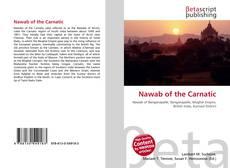 Обложка Nawab of the Carnatic