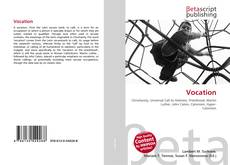Bookcover of Vocation