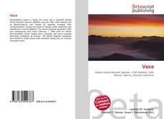 Bookcover of Voce