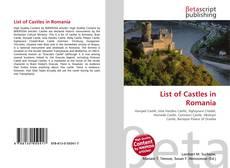 Buchcover von List of Castles in Romania