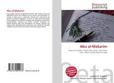 Abu al-Makarim的封面