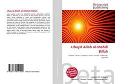 Ubayd Allah al-Mahdi Billah kitap kapağı