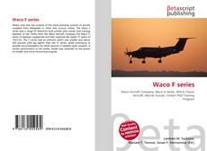 Bookcover of Waco F series