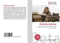 Bookcover of Abänderungsklage