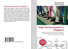 Couverture de Public Demonstrations in Singapore