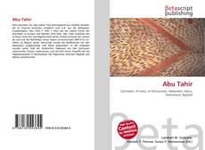 Bookcover of Abu Tahir