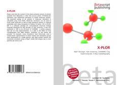 Bookcover of X-PLOR