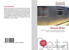 Borítókép a  Vacuum Brake - hoz