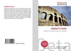 Couverture de Rabbel II Soter