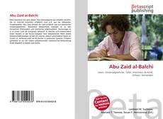 Abu Zaid al-Balchi kitap kapağı
