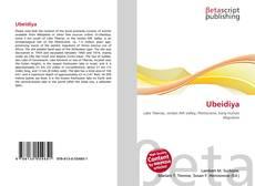 Bookcover of Ubeidiya