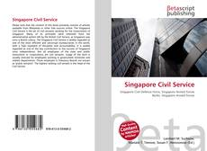 Bookcover of Singapore Civil Service