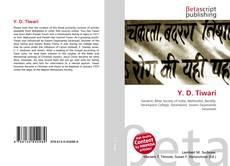 Bookcover of Y. D. Tiwari