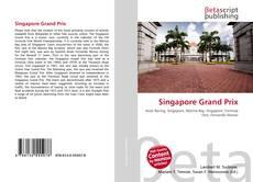 Bookcover of Singapore Grand Prix