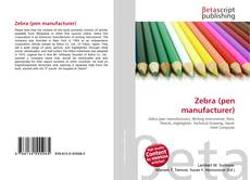 Bookcover of Zebra (pen manufacturer)