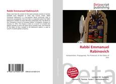 Bookcover of Rabbi Emmanuel Rabinovich