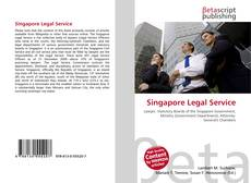 Bookcover of Singapore Legal Service