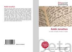 Обложка Rabbi Jonathan