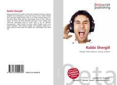 Bookcover of Rabbi Shergill