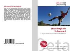 Bookcover of Shunmugham Subramani