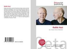 Copertina di Rabbi Assi