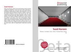 Borítókép a  Saad Haroon - hoz