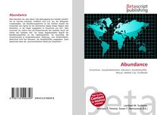 Bookcover of Abundance