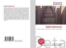 Bookcover of Rabbi Nehemiah