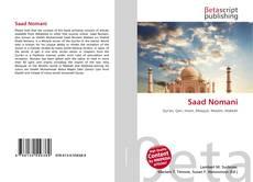 Bookcover of Saad Nomani
