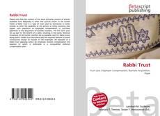 Bookcover of Rabbi Trust