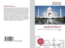 Bookcover of Saadat Ali Khan II