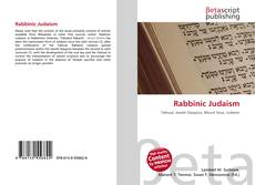 Обложка Rabbinic Judaism