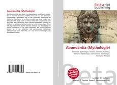 Capa do livro de Abundantia (Mythologie)