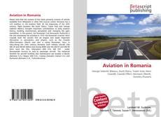 Portada del libro de Aviation in Romania