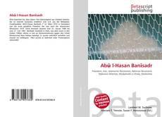 Bookcover of Abū l-Hasan Banīsadr