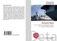 Bookcover of Peruvian Navy