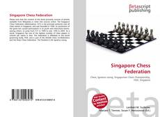 Bookcover of Singapore Chess Federation