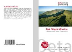 Bookcover of Oak Ridges Moraine