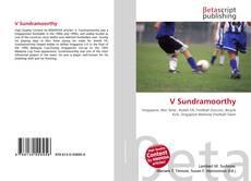 Bookcover of V Sundramoorthy