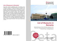 Обложка List of Museums in Romania